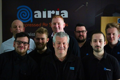 Who We Are - Airia Compressed Air Solutions Southampton, Hampshire