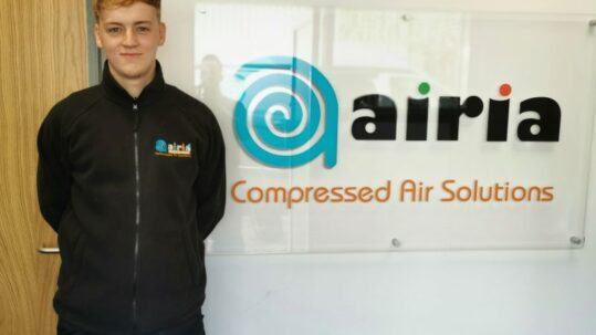 Airia new apprentice